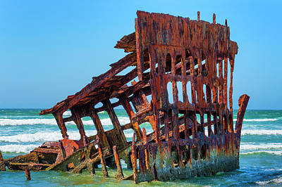 Photograph - Peter Iredale Shipwreck IIi by Dee Browning