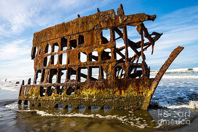 Peter Iredale Shipwreck - Oregon Coast Art Print