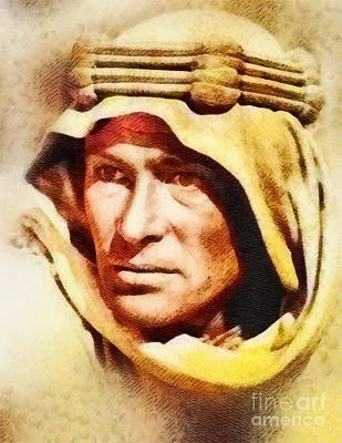 Musicians Royalty Free Images - Peter OToole as Lawrence of Arabia Royalty-Free Image by John Springfield