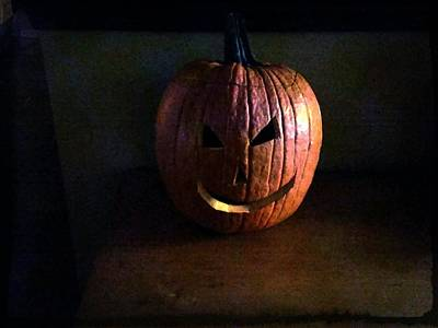 Jacko Photograph - Peter Peter Pumpkin Eater by Michael L Kimble