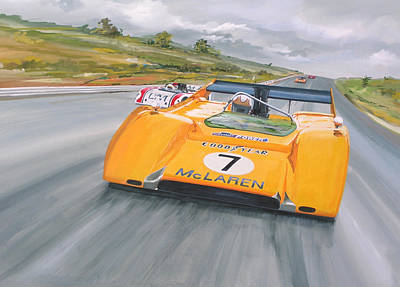 Peter Revson Can Am Art Print
