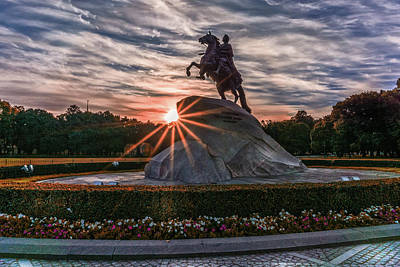 Photograph - Peter Rides At Dawn by Boyce Fitzgerald