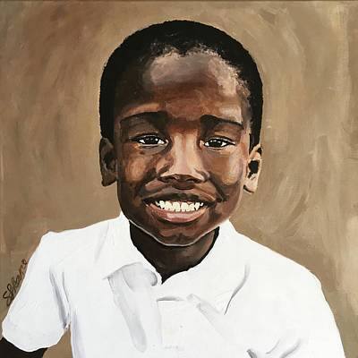 Painting - Peter by Sarah LaRose Kane