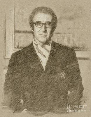 Singer Drawing - Peter Sellers, Actor by Frank Falcon