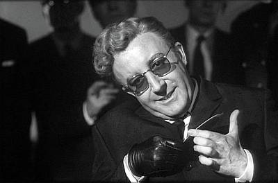 Peter Sellers As Dr. Strangelove Number One Color Added 2016 Art Print