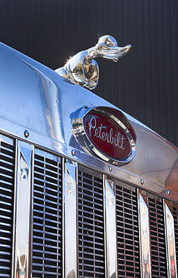 Photograph - Peterbilt Angry Duck by Theresa Tahara