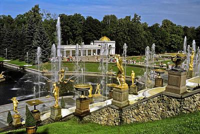 Photograph - Peterhof Gardens by Sally Weigand