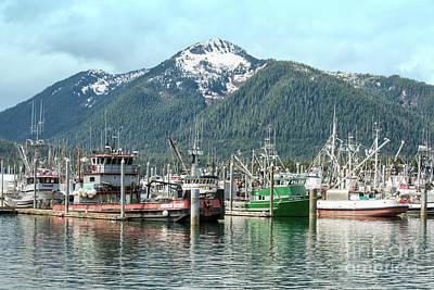 Photograph - Petersburg Alaska Harbor by Loriannah Hespe
