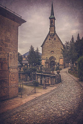 Austrian Photograph - Petersfriedhof Salzburg  by Carol Japp