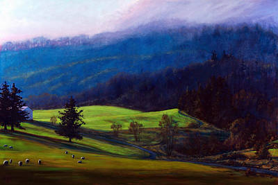 Painting - Peterson's Butte Oregon by Michael Orwick