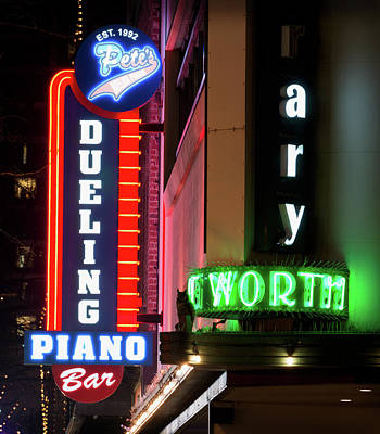 Photograph - Pete's Dueling Piano Bar Fort Worth by Rospotte Photography