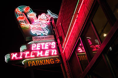 Pete's On Colfax Art Print