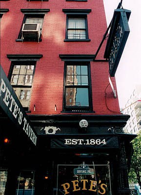 Photograph - Pete's Tavern by Mark Alesse