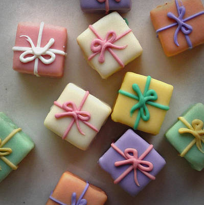 Photograph - Petit Fours Scattered by Valerie Reeves