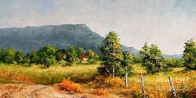 Petit Jean Mountain Art Print