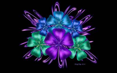 Digital Art - Petite Bouquet by Karla White