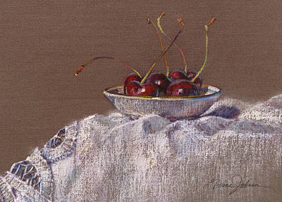 Petite Bowl Iv Art Print by L Diane Johnson