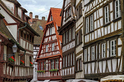 Photograph - Petite France Houses, Strasbourg by Elenarts - Elena Duvernay photo