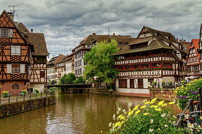 Petite France, Strasbourg Art Print by Elenarts - Elena Duvernay photo