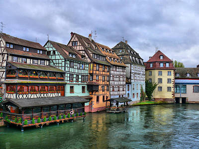 Petite-france, Strasbourg Art Print by Richard Fairless