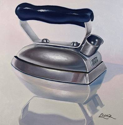 Painting - Petite Iron by Gema Lopez