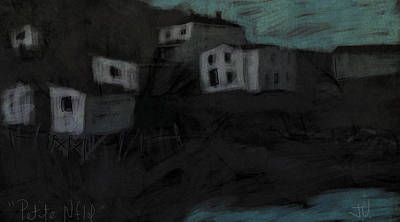 Digital Art - Petite Nfld by Jim Vance