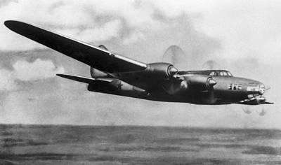 Petlyakov Pe-8, Soviet Ww2 Bomber Art Print by Ria Novosti