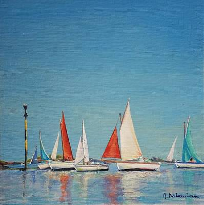 Painting - Petole A Chausey by Muriel Dolemieux