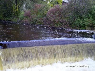 Petoskey Mi Mineral Park Waterfall  Art Print