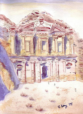 Petra Art Print by Rene Ury
