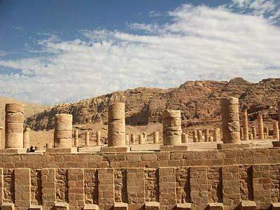 Photograph - Petra Sky by Munir Alawi