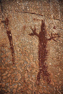 Photograph - Honanki Pictographs2 Txt by Theo O'Connor