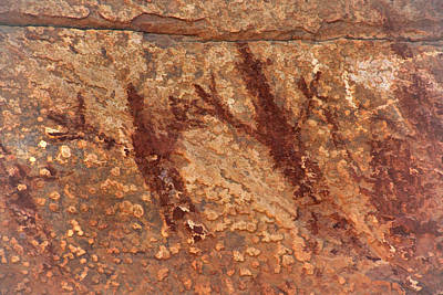 Photograph - Honanki Pictographs3 Tnd by Theo O'Connor
