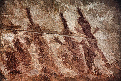 Photograph - Honanki Pictographs4 Pnt by Theo O'Connor