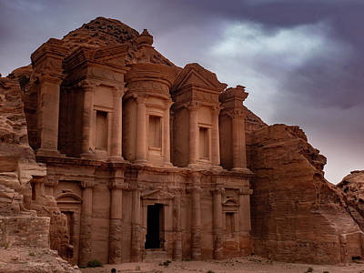 Photograph - Petra's Monastery by Boyce Fitzgerald