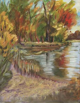 Petrie Island Painting - Petrie In The Summer by Joanne Gauthier