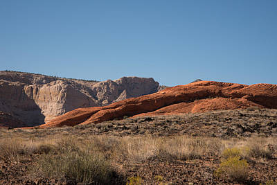 Photograph - Petrified Red Sand Dunes by Michael Gooch