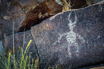 Photograph - Petroglyph 2 by James Barber