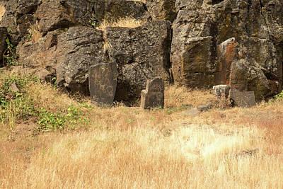 Photograph - Petroglyph  2 by Tom Cochran