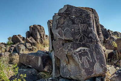 Photograph - Petroglyph 3 by James Barber