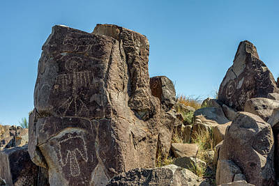 Photograph - Petroglyph 4 by James Barber