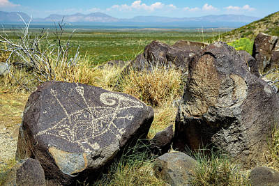 Photograph - Petroglyph 5 by James Barber