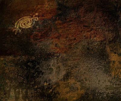 Petroglyph 6 Art Print