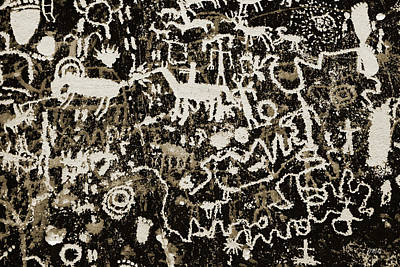 Photograph - Petroglyph I Wt by David Gordon