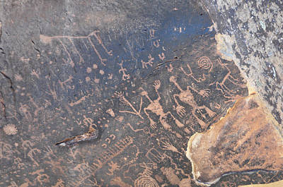 Photograph - Petroglyph Men by David Arment