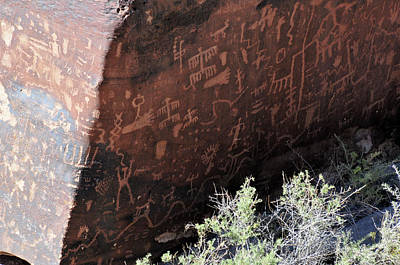 Photograph - Petroglyph Newspaper Rock by David Arment