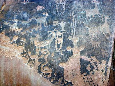 Photograph - Petroglyph by Pamela Walrath