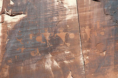 Photograph - Petroglyph by Steve Stuller