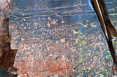 Photograph - Petroglyphic Wall by David Arment