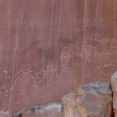 Photograph - #petroglyphs #capitolreefnationalpark by Patricia And Craig